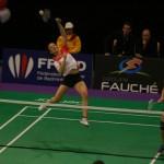 Magaga & Marty aux finales du championnat de France de badminton 2012 !